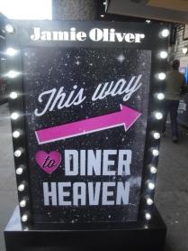 Jamie Oliver Diner Sign